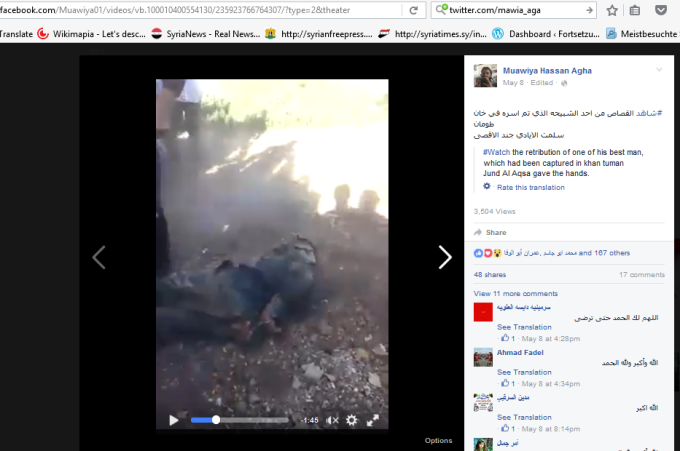 Murdered syrian soldier 2